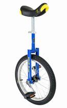 Einrad QU-AX Luxus 355 mm (18″) blau