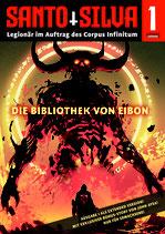 SANTO SILVA – Episode 1: DIE BIBLIOTHEK VON EIBON (Heft 1)