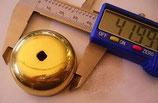 Cloche laiton pour pendule de paris