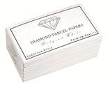 Papiers pour diamants et pierres