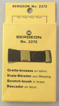 Gratte brosse à main Bergeon 2272