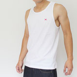 Heavy.tank top WHITE