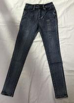 Soill Women's Jeans-Vintage Blue