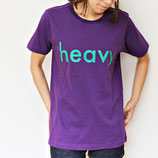 Havy.Logo tee PURPLE