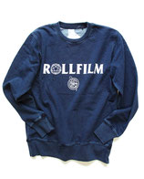 ROLLFILM LOGO SWEAT Vintage Denim