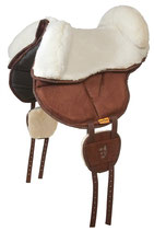 siège mouton pour pad de monte à cru