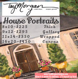Original House Paintings by Tay Cossar Morgan