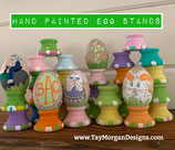 Hand-painted Easter Egg Stand