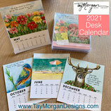 2021 DESK CALENDAR **ON SALE NOW!!!  (Inspirational & Scripture Art)