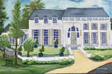 Ole Miss Tri Delta House Print