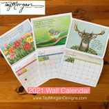 *On sale!* 2021 Hanging WALL CALENDAR *Limited Supply