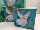 """Angels among us"" original paintings on gallery wrapped canvas"