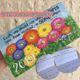 COMING SOON! 2020 POCKET/PURSE Calendar