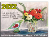 2022 Hanging WALL CALENDAR PRE ORDER NOW