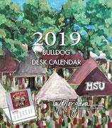 2019  MSU DESK CALENDAR (MSU Bulldog)