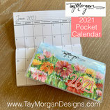 2021 POCKET/PURSE *ON SALE NOW*Calendar