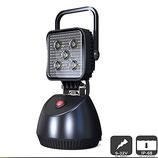 LED Arbeitsscheinwerfer spez. für Feuerwehr, Magnetsockel