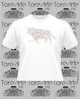Camiseta Mod. TORO MOSAICO