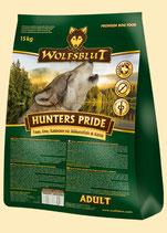 Wolfsblut Hunters Pride 15 Kg. Trockenfutter für Hunde mit Fasan, Ente und Kaninchen.