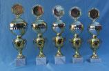 #66019  Doppel-Pokal  Farbe Gold in 5 Größen