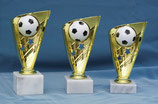 #66072 Fußball Ständer Trophäe in Gold