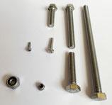 MPCNC Schrauben Kit (Mostly Printed CNC) mit M4 statt M3,5 V2A