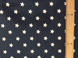 """Wachstuch """"au maison"""", marine mit weissen Sternen"""