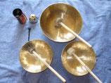 Klangmassage Set mit Zubehör