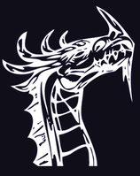 Drachen Aufkleber 22