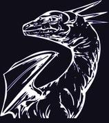 Drachen Aufkleber 21