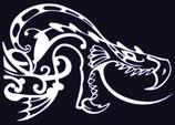 Drachen Aufkleber 27