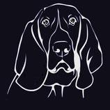 Hund Aufkleber 2