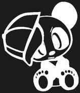 Panda with Cap