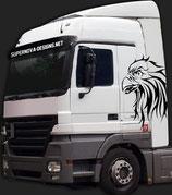 LKW Aufkleber Adler 2