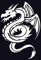 Drachen Aufkleber 11