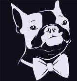 Hund Aufkleber 3