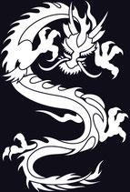 Drachen Aufkleber 9