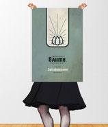 """Vintage Poster """"Bäume""""/Kontraste"""
