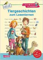 LNeue Tiergeschichten zum Lesenlernen: Bild-Wörter-Geschichten – mit Bildern lesen lernen