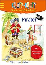 Klipp-Klapp Sach- und Rätselheft: Piraten