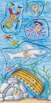 Gefährliche Fische - Basic Stamp Game