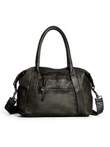 Quito Bag - Washed Buffalo Leather (Dark Khaki)