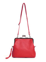 Monaco Bag - Goat Leather (Red)