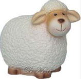 "Schaap wollig wit ""Molly"" , Lamp (Led)"