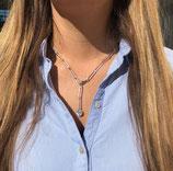 Halskette Flow 02 silber Sergio Engel