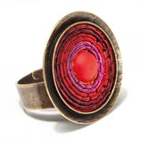 Ring India Antik 02 rot Sergio Engel