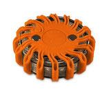 Orangenefarbene Warnleuchte - Powerflare