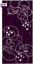 HA 5895-141 Knots in violet