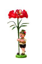 Blumenkind mit Amarylis
