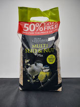 Tom Chambers - Multi Seed & Nut Mix (50% Extra Free)